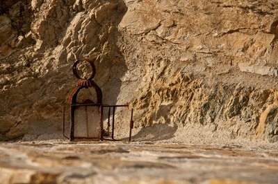 Rusty lantern in Banduxu (Bandujo)