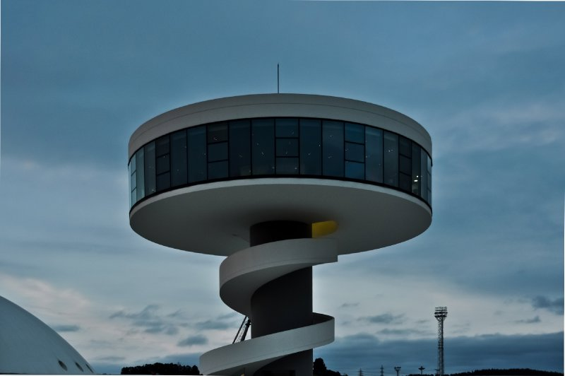 Niemeyer Center tower (Avilés)