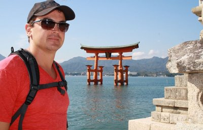 Luke Torii shrine at Miyajima