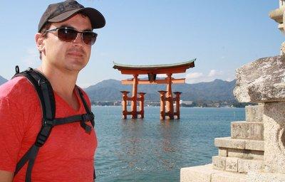 Luke Torii shrine at Miyajima