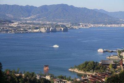 View of Myajima Island
