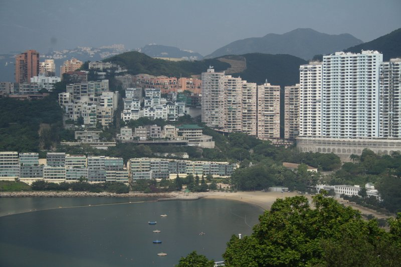 View of Deep Water Bay and buildings