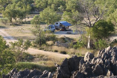 Camping at Boab Quarry, Oscar Ranges