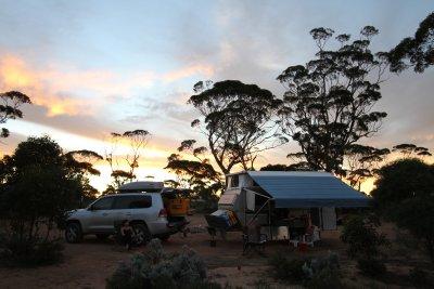 90 Mile Road camp