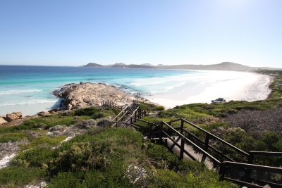 Nothern lookout over Lucky Bay
