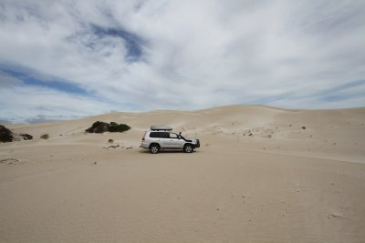 Sand dunes next to Fowlers Bay