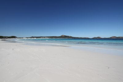Whitest beach in Australia
