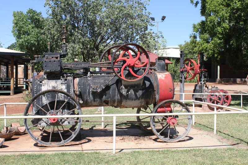 Gold era machines in Halls Creek