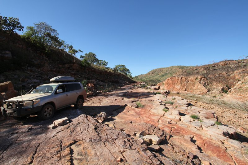 4WD Track at Explosion Gorge
