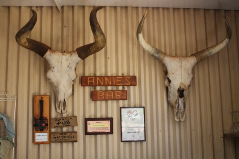 Annies Bar at Drysdale River Station
