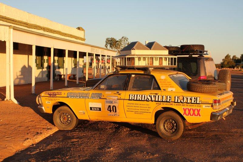 Birdsville Hotel courtecy car