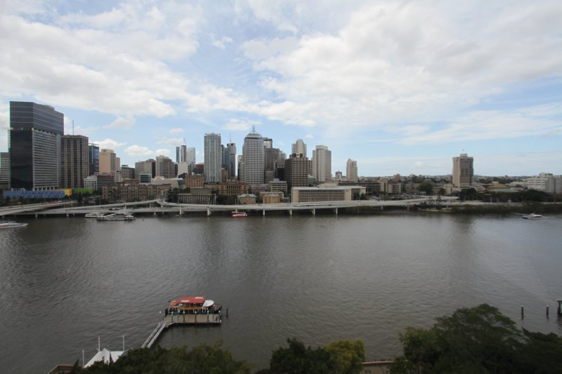 Brisbane City from the Wheel