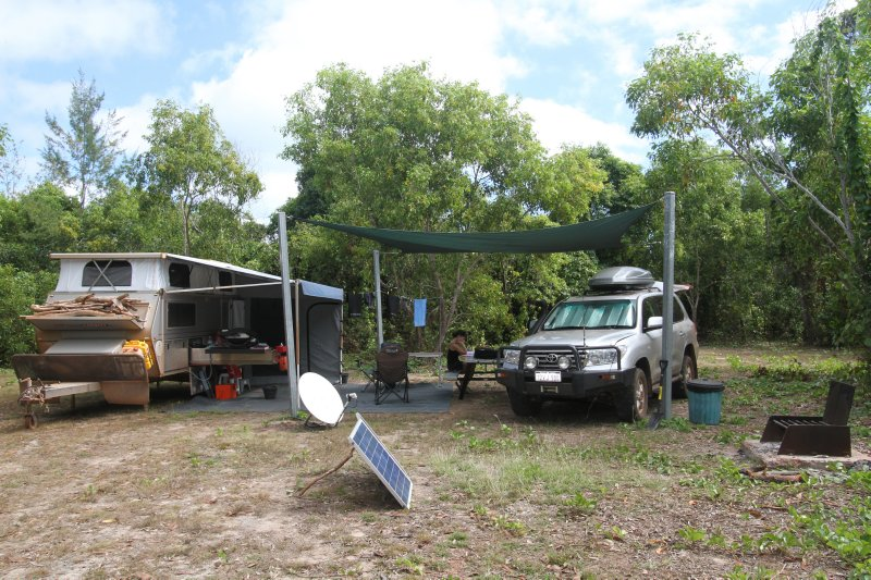 Campsite at Garig Gunak Barlu