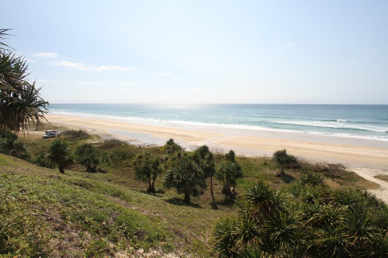 Campsite on 75 Mile Beach