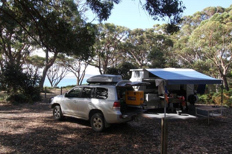 Cloudy Corner campsite