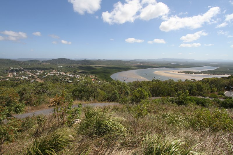 Cooktown from Grassy Hill