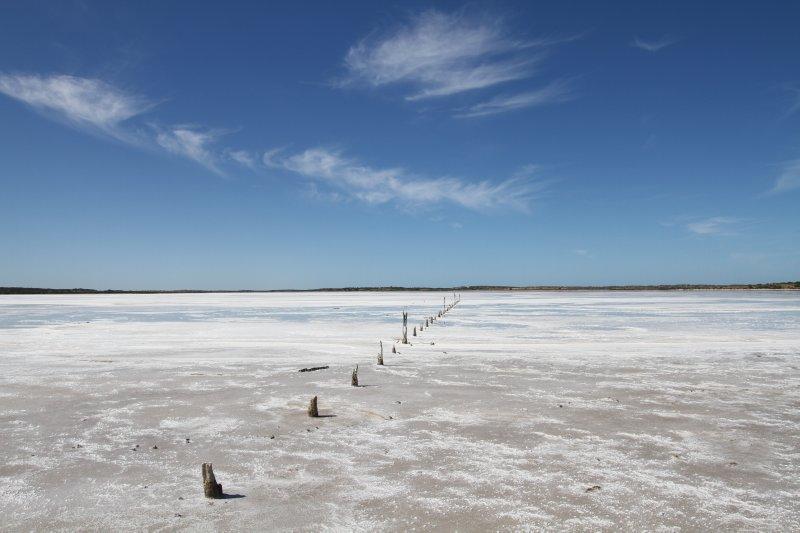 Coorong salt lakes