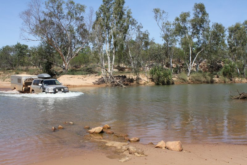 Crossing the Gibb River