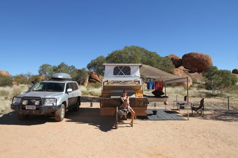 Devils Marbles campsite