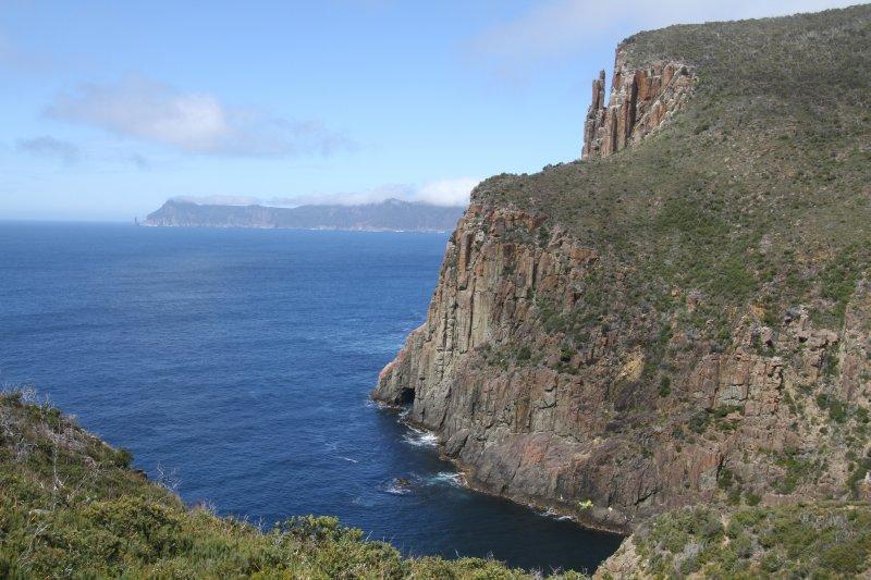 Dramtic sea cliffs at Cape Hauy