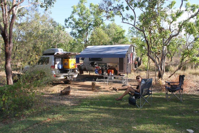 Edith Falls campsite