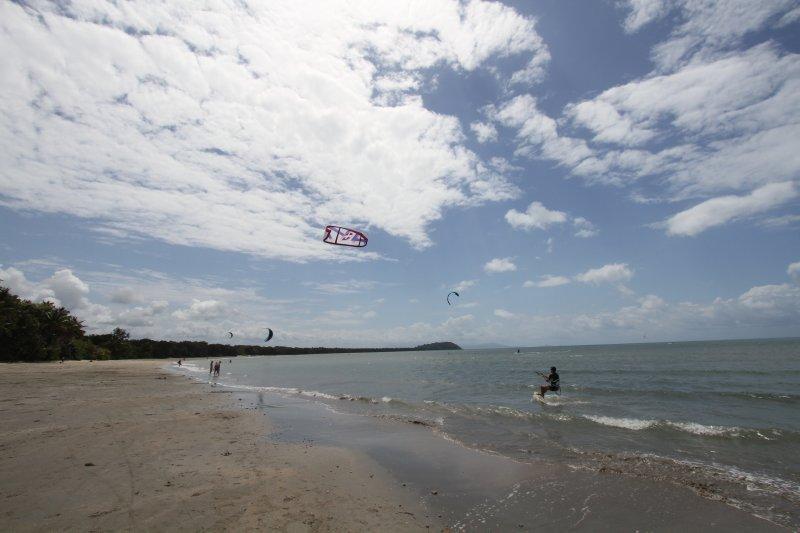 Four Mile Beach wind surfing