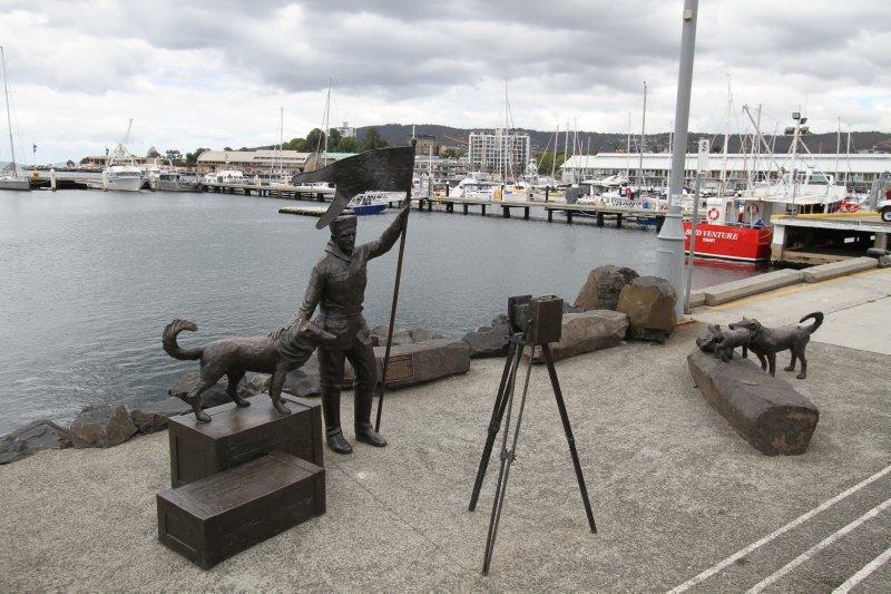 Franklin Wharf sculptures