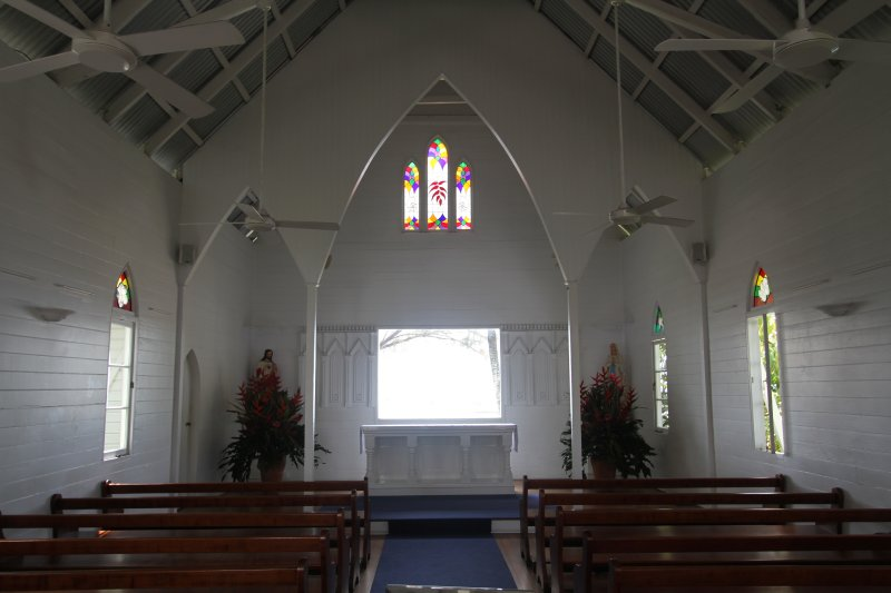 Inside of St Mary's by the Sea