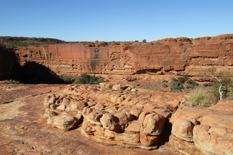 Kings Canyon strange rock formations