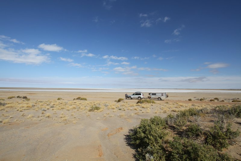 Lake Eyre shores