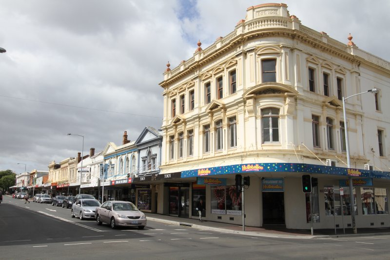 Launceston street scene