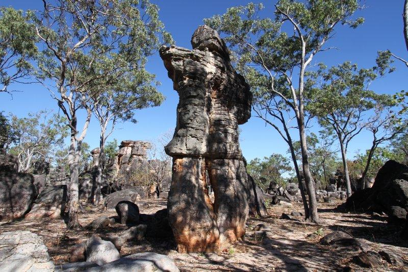 Lost City statue