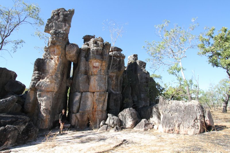 Lost City in Litchfield NP