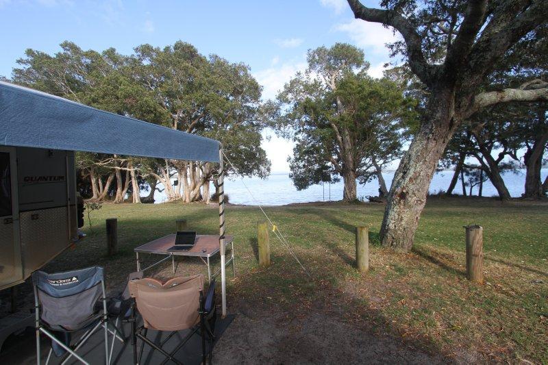 Mungo Brush campsite