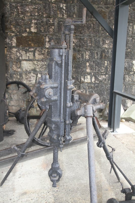 Old rock drill and breaker in Trial Bay Goal