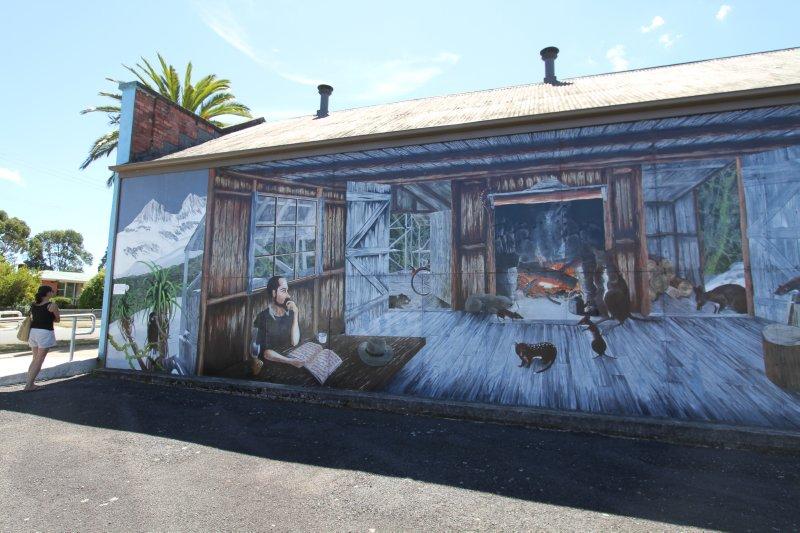 Original Sheffield mural
