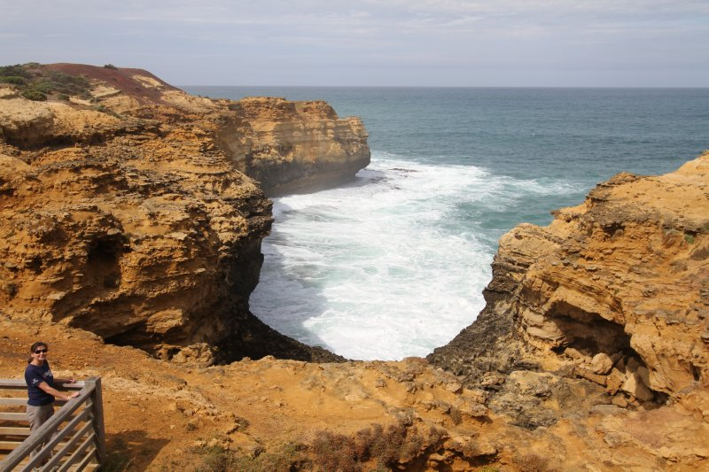 Rugged coastline at Port Campbell