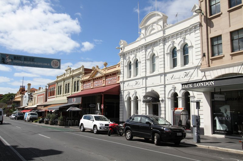 Rundle Street architecture