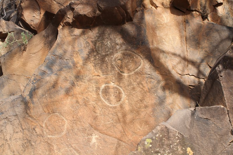 Sacred Canyon Aboriginal rock carvings