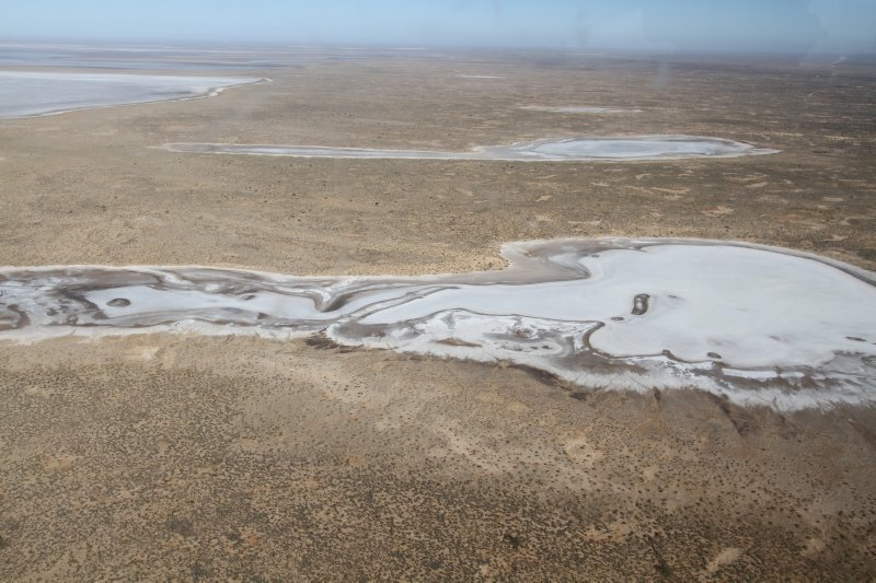 Saltpans at Lake Eyre South
