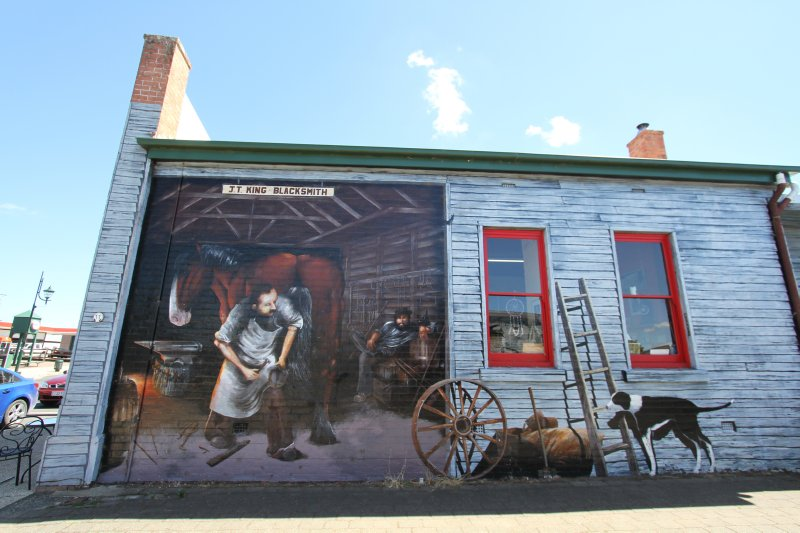 Sheffield blacksmith mural