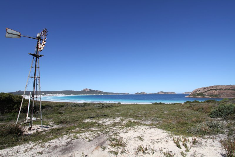 Source of the Lucky Bay campground water
