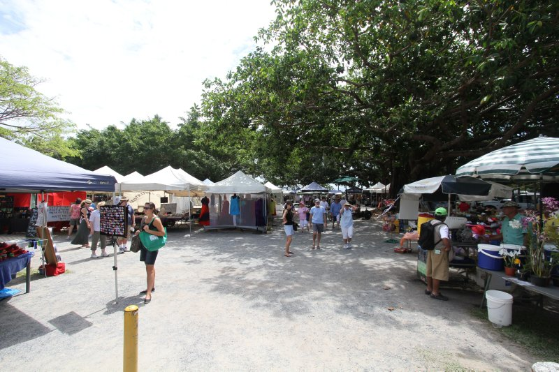 Sunday markets in Port Douglas