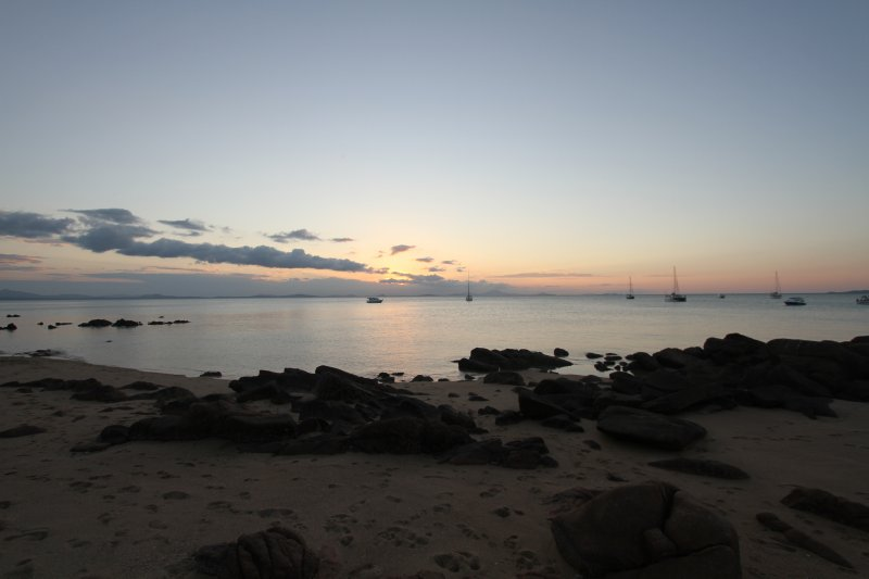 Sunset at Cape Gloucester