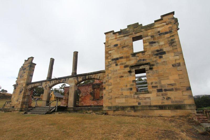 The hospital at Port Arthur