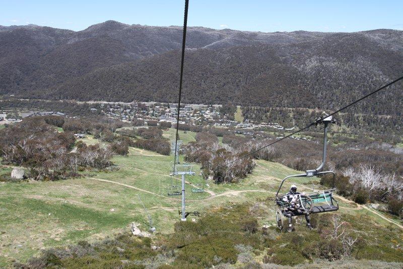 Thredbo ski lift