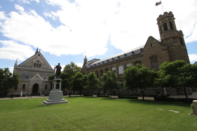 Adelaide University campus