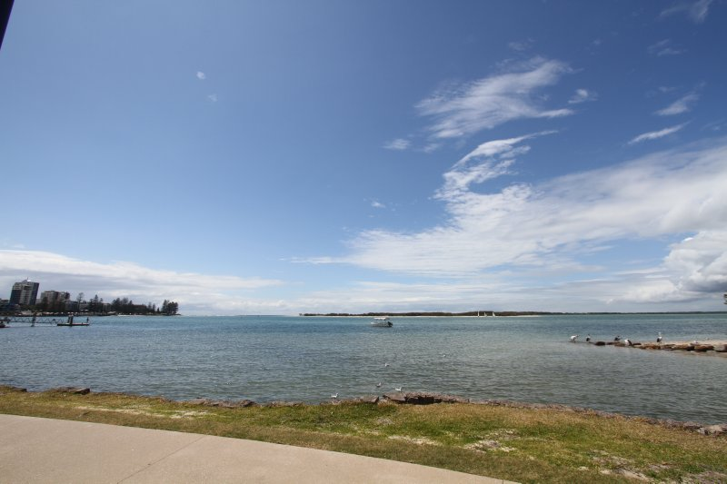 View from Caloundra Waterfront Holiday Village