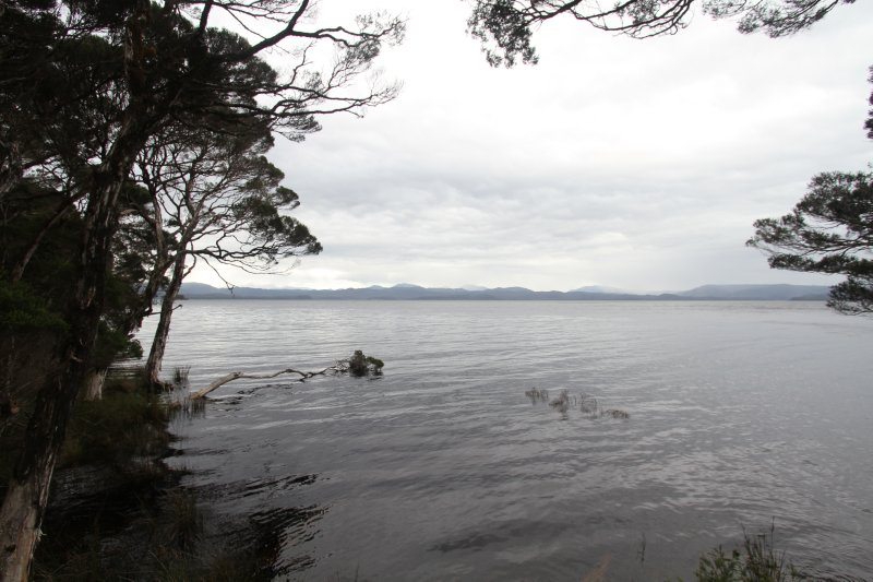 View from Sarah Island