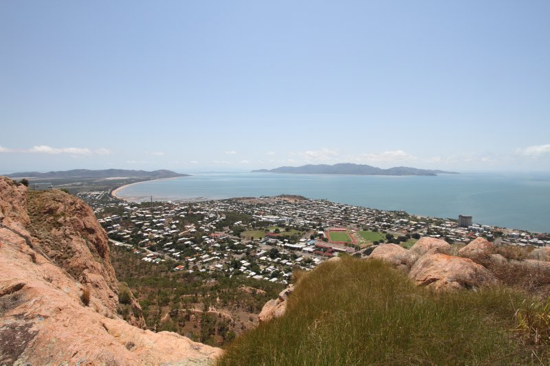Views of Magnetic Island from Castle Hill